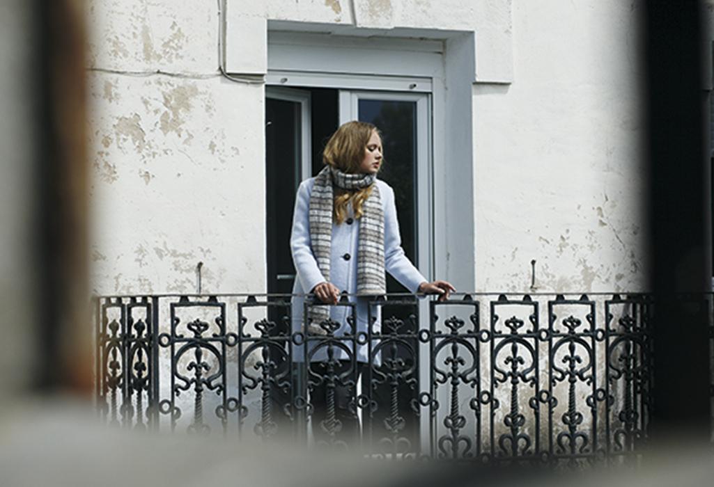 bufanda y abrigo