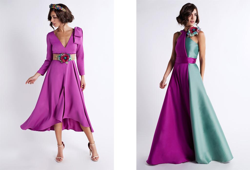 coleccion matilde cano vestido rayas